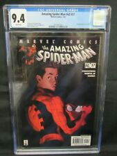 Amazing Spider-Man #v2 #37 (2002) (#478) Kaare Andrews Cover CGC 9.4 CE477