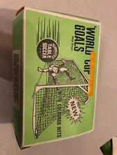 COPPA del mondo vintage obiettivi SUBBUTEO TABLE SOCCER (DUE) SET C.130 IN SCATOLA ORIGINALE