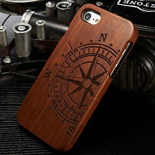 Natural Wooden Wood Bamboo Phone Case Cover for iPhone 7/7 Plus iPhone 6/6s Plus