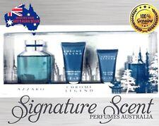 AZZARO CHROME LEGEND 75ml EDT 4 Piece Gift Set  Spray Perfume Men  NEW  (BNIB)