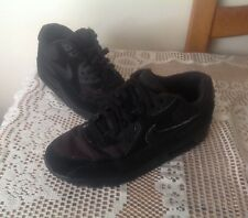 Mens Nike Air Max 90 - Black - Trainers size 11  -  SCALLY