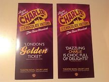 2x different flyer /handbill CHARLIE AND THE CHOCOLATE FACTORY