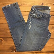 ABERCROMBIE & FITCH Women's Size 4S Erin Distressed Jean