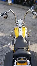 POLISHED STAINLESS ape handlebar custom motorcycle handlebar20''18''16''14''12''