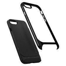 Spigen Neo Hybrid Herringbone Bumper Case for iPhone 8 - Shiny Black