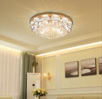 Luxury K9 Crystal Chandelier LED Ceiling Light Home Pendant Dia  23.6''/31.5''