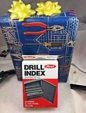 60 PCS M35 Cobalt Jobber Number # Drill Bit Set, 1 to 60 . Huot Case.135 S/P.