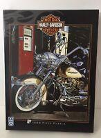 "2003 Harley Davidson 1000 piece puzzle FX SCHMID No.78150 20"" x 27"" Pumping Iron"