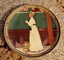 Norman Rockwell A Mothers Welcome 1986 Knowles China Numbered Plate w/box & Coa