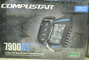 Compustar CS7900-AS All In One 2-Way 3000-FT Range Remote Start Security Sys NEW