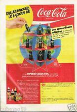 Publicité advertising 1982 Boisson soda Coca Cola