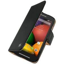 AMZER PU LEATHER FLIP CASE FOLIO STAND WALLET COVER FOR MOTOROLA MOTO E XT1022