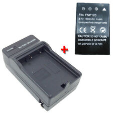 PA3790U-1CAM Battery&Charger for TOSHIBA Camileo H-30 H-31 X-100 H30 H31 X100 HD