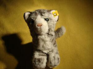 Steiff Katze grau getigert