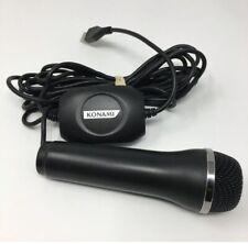 Official Konami USB Logitech Microphone Black PS2 PS3 XBOX 360 Wii A-0060A