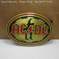 Cowboy Belt Buckle Men Zinc Alloy Classic ACDC Rock Music Belt Buckles Western