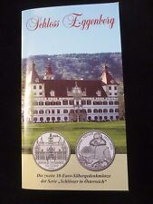 "Österreich, 10 Euro Silbergedenkmünze, 2002, ""Schloss Eggenberg"""