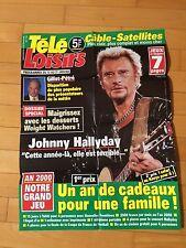 ► AFFICHE - JOHNNY HALLYDAY - TELE LOISIRS - 80x60cm