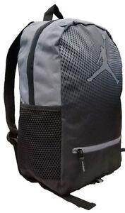 NIKE AIR JORDAN Jumpman Backpack School Bag Laptop Cool Gray 9A1836-K26 NEW
