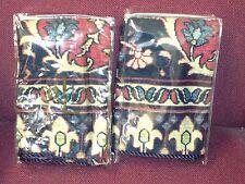 Ralph Lauren POET SOCIETY Oriental Rug EURO SHAMS (2) Original NIP 1ST Quality!!