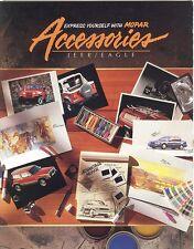 1991 Jeep / Eagle Accessories Sales Brochure - Mint!
