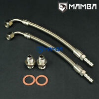 Turbo Water Line Kit 25cm 90Deg-3/8Barb Ford Sierra Cosworth Escort Cosworth YBT