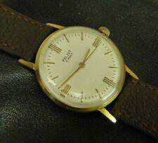 Poljot Soviet Russian USSR wristwatch 17 j 2609 Cal gold plated AU20