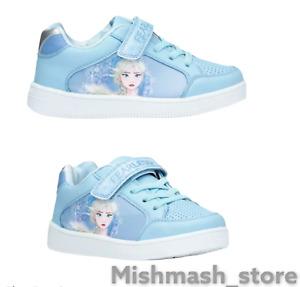 BNWT Disney FROZEN 2 Elsa fearless easy on kids girls trainers shoes  uk 7 to 13