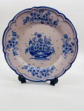 Beautiful Lufeco 12 Inch Traditional Folk Plate