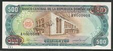Dominican Republic 500 Pesos Oro 1985 Specimen Unc