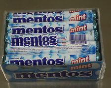 Mentos Chewy Mint Flavor 15 1.32oz Rolls Breath Candy Fresh Stock The freshmaker
