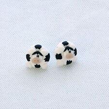 cute cow studs moo emo farm earrings cool