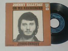 """JOHNNY HALLYDAY -On Me Recherche- 7"""" 45"""