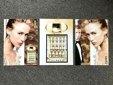 Rare Vintage Retro 2007 UK Vogue HB Magazine Art Advert Picture Fendi Palazzo x3