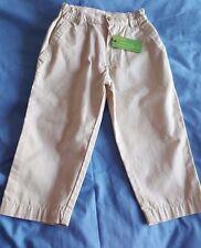 Boys Designer Timberland Light  Beige Trousers Age 3 RRP £32.99 BNWT