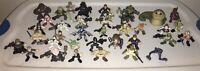 Hasbro Star Wars Galactic Heroes Action Figures(Rare) Lot Of 37 Mini Figures LFL