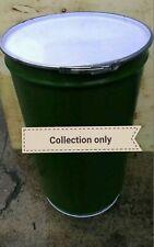 More details for 205 litre/45 gallon steel tapered drum/barrel/container/burner/metal/bin