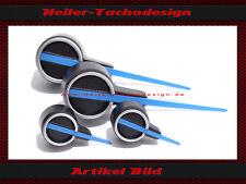 Blaue Tachonadeln Satz VW GOLF 7 R-LINE R20  PASSAT CC  B7 R LINE