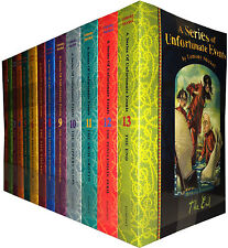 A Series of Unfortunate Events 13 Books Set Complete Collection (Lemony Snicket)