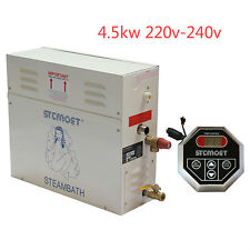 Steam Generator 4.5 KW Sauna /Bath Home SPA Shower 220v With Controller ST-135A