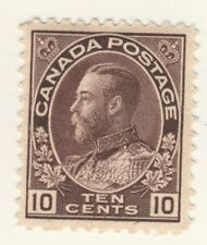 Canada Stamp Scott # 116 10-Cents Admiral Issue MH