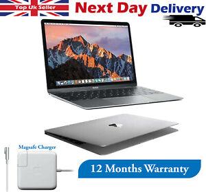 "Apple MacBook 12"" Laptop 1.1GHz Intel Core M 8GB RAM 256GB SSD Grey 2015 Good"