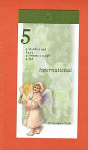 1999  CANADA BOOKLET STAMPS BK224 # 1817  CHRISTMAS VICTORIAN ANGEL OC20