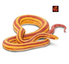 More details for cornsnake 1:1 scale snake toy model by safari ltd 100073 brand new