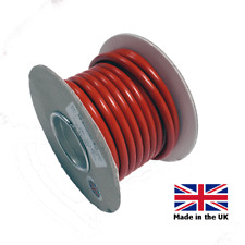 5 METERS RED  16mm - 110 AMP THIN WALL BATTERY CABLE FOR CAMPERVAN MOTORHOME