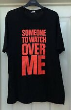 Someone To Watch Over Me Black/ Neon T-Shirt, Size Large - Lovely!
