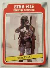 1980 Star Wars Empire Strikes Back #11 Boba Fett Rookie card!!! First apearance