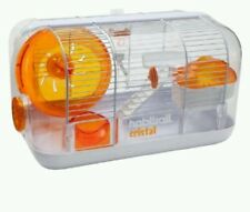 HAMSTER Habitrail Orange Hamster Cage Pet Palace Habitat Wheel Water Dispenser