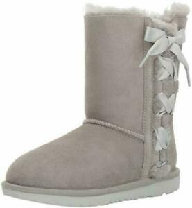 UGG TODDLER PALA (1017737T)  GREY - 100%  AUTHENTIC  -     Toddler Size 10