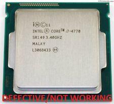 Intel Core i7-4770 - 3,4 GHz Quad-Core (BX80646I74770) DEFECTIVE/NOT WORKING